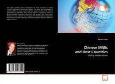 Bookcover of Chinese MNEs and Host Countries