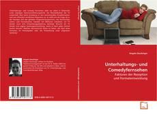 Bookcover of Unterhaltungs- und Comedyfernsehen
