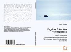 Bookcover of Kognitive Prävention von Depression