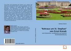 """Buchcover von """"Kehraus um St. Stephan"""" von Ernst Krenek"""