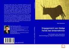 Bookcover of Engagement von Hedge Fonds bei Unternehmen
