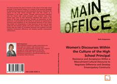 Capa do livro de Women's Discourses Within the Culture of the High School Principal