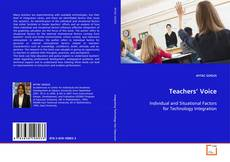 Bookcover of Teachers' Voice