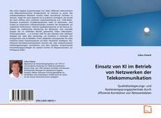 Buchcover von Einsatz von KI im Betrieb von Netzwerken der Telekommunikation