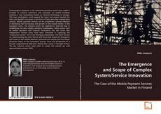 Capa do livro de The Emergence and Scope of Complex System/Service Innovation