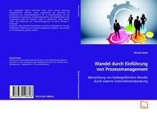 Обложка Wandel durch Einführung von Prozessmanagement