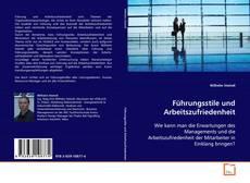 Buchcover von Führungsstile und Arbeitszufriedenheit