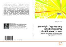 Portada del libro de Lightweight Cryptography in Radio Frequency Identification Systems
