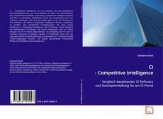 Capa do livro de CI - Competitive Intelligence
