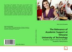Bookcover of The Relevance of Academic Support at Tshwane University of Technology
