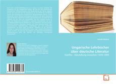 Ungarische Lehrbücher über deutsche Literatur kitap kapağı