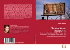 Bookcover of Die neue Kunst des NICHTS