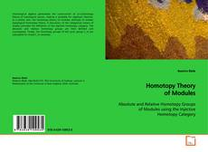 Bookcover of Homotopy Theory of Modules