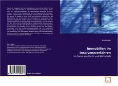 Bookcover of Immobilien im Insolvenzverfahren