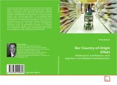Capa do livro de Der Country-of-Origin Effekt