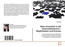 Buchcover von Open Innovation in der Automobilindustrie – Möglichkeiten und Grenzen