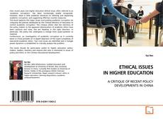 Bookcover of ETHICAL ISSUES IN HIGHER EDUCATION