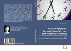 Borítókép a  Die demografische Herausforderung in der  Betrieblichen Sozialarbeit - hoz
