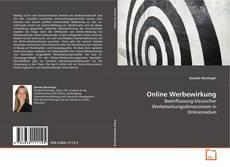 Capa do livro de Online Werbewirkung
