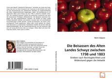 Bookcover of Die Beisassen des Alten Landes Schwyz zwischen 1798 und 1803