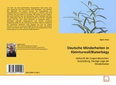 Bookcover of Deutsche Minderheiten in Kleinturwall/Biatorbágy