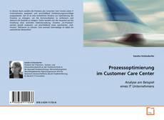 Buchcover von Prozessoptimierung im Customer Care Center