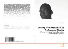 Couverture de Shifting from Traditional to Professional Studies
