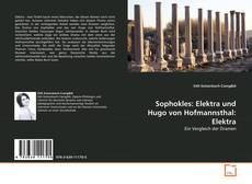 Borítókép a  Sophokles: Elektra und Hugo von Hofmannsthal: Elektra - hoz
