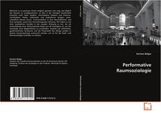 Bookcover of Performative Raumsoziologie