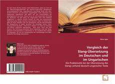 Buchcover von Vergleich der Slang-Übersetzung im Deutschen und im Ungarischen