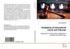 Multiplicity of International Courts and Tribunals的封面