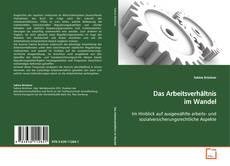 Buchcover von Das Arbeitsverhältnis im Wandel