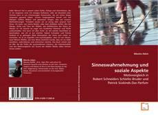 Bookcover of Sinneswahrnehmung und soziale Aspekte