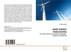 Capa do livro de WIND ENERGY FORECASTING