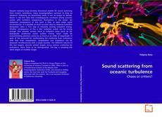 Portada del libro de Sound scattering from oceanic turbulence