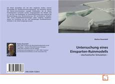 Copertina di Untersuchung eines Einsparten-Ruinmodells