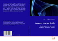 Bookcover of Language Learning Beliefs