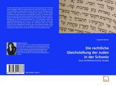 Portada del libro de Die rechtliche Gleichstellung der Juden in der Schweiz