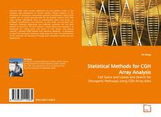 Capa do livro de Statistical Methods for CGH Array Analysis