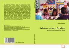 Buchcover von Lehren - Lernen - Erziehen