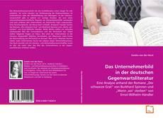 Buchcover von Das Unternehmerbild in der deutschen Gegenwartsliteratur