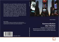 Buchcover von Kommunikation über Marken