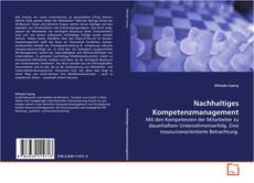 Bookcover of Nachhaltiges Kompetenzmanagement