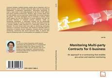 Buchcover von Monitoring Multi-party Contracts for E-business