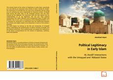 Capa do livro de Political Legitimacy in Early Islam
