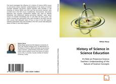 Copertina di History of Science in Science Education