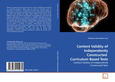 Bookcover of Content Validity of Independently Constructed  Curriculum Based Tests