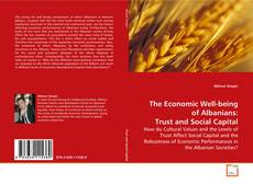 Bookcover of The Economic Well-being of Albanians: Trust and Social Capital