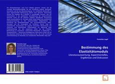 Borítókép a  Bestimmung des Elastizitätsmoduls - hoz