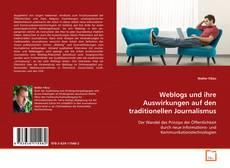 Portada del libro de Weblogs und ihre Auswirkungen auf den traditionellen Journalismus